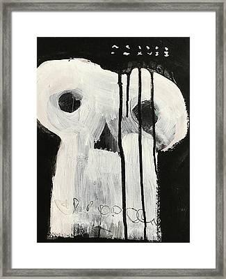 Mmxvii Skulls No 7 Framed Print