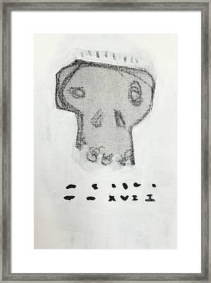 Mmxvii Skulls No 8 Framed Print