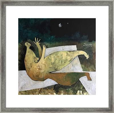 Mmxvii Spring Night No 1 Framed Print by Mark M Mellon
