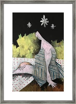 Mmxvii Spring Night No 2  Framed Print by Mark M Mellon