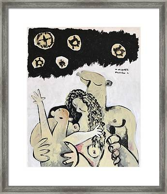 Mmxvii The Ascension No 1  Framed Print by Mark M Mellon