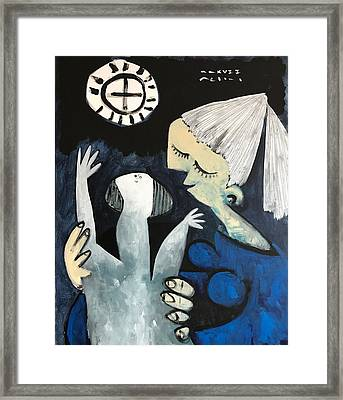 Mmxvii The Ascension No 3  Framed Print by Mark M Mellon