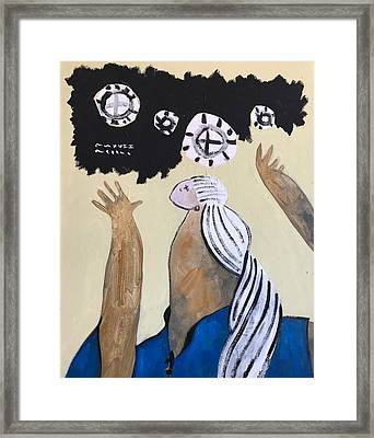 Mmxvii The Ascension No 4 Framed Print