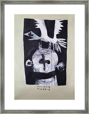 Mmxvii The Gambler  Framed Print by Mark M Mellon