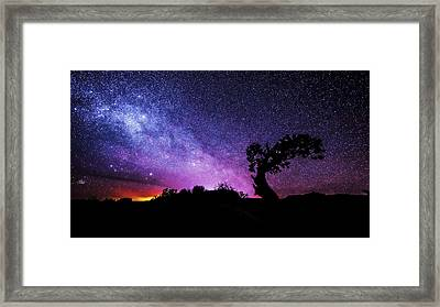 Moab Skies Framed Print by Chad Dutson