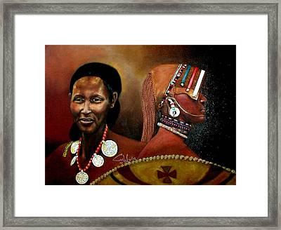 Moanamaasai Framed Print by G Cuffia