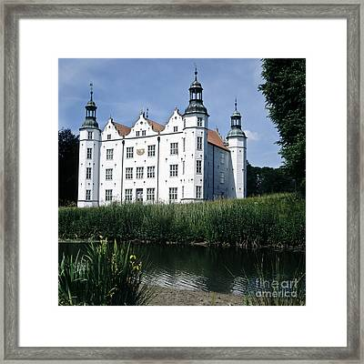 Moated Manor House Framed Print by Heiko Koehrer-Wagner