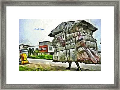 Mobile Home - Da Framed Print by Leonardo Digenio