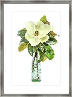 Mobile Magnolia Framed Print