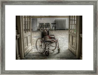 Mobile Teddy  Framed Print by Nathan Wright