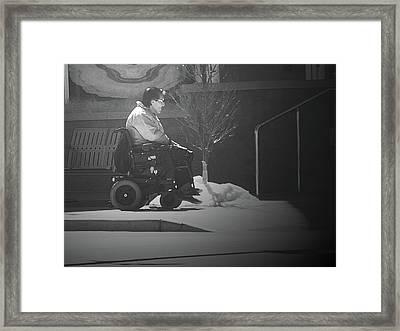 Mobility Framed Print by Lenore Senior