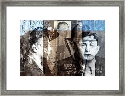 Mobsters Framed Print