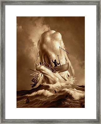 Moby Dick 2 Framed Print