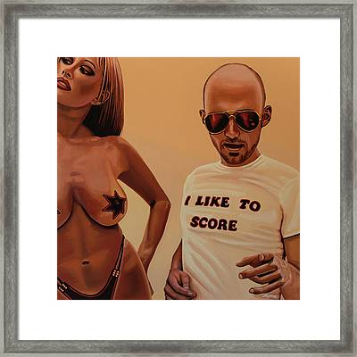 Moby Painting Framed Print