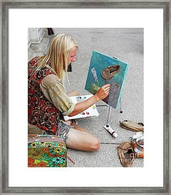 Moccasin Inspiration Framed Print