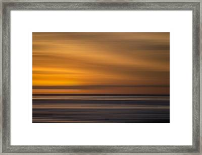M'ocean 25 Framed Print by Peter Tellone