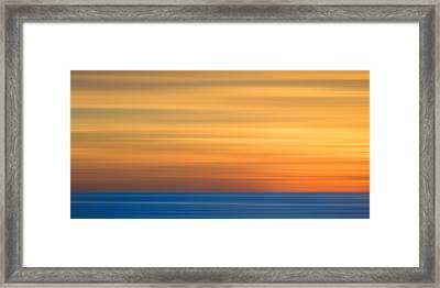 M'ocean 3 Framed Print by Peter Tellone