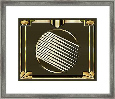 Mocha 1 - Frame 1 Framed Print