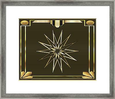 Framed Print featuring the digital art Mocha 3 - Chuck Staley by Chuck Staley