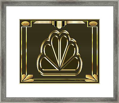 Framed Print featuring the digital art Mocha 5 - Chuck Staley by Chuck Staley