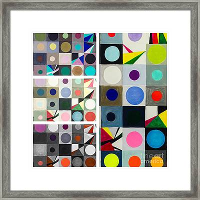Mod Party Framed Print