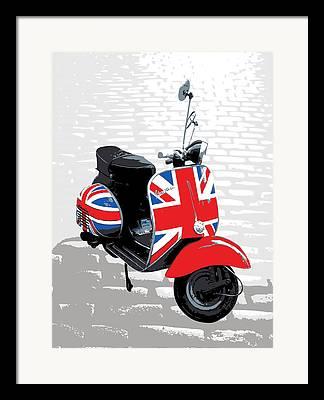 British Flag Framed Prints