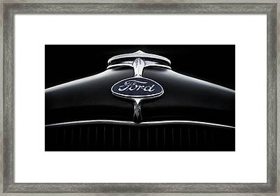 Framed Print featuring the digital art Model A Ford by Douglas Pittman