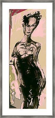 Model IIi Framed Print by Noredin Morgan