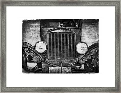 Model T 1924 Framed Print
