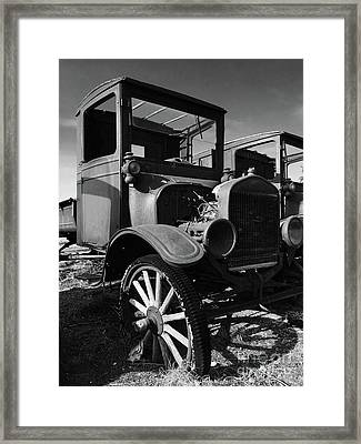 Model T Framed Print by Chris Brewington