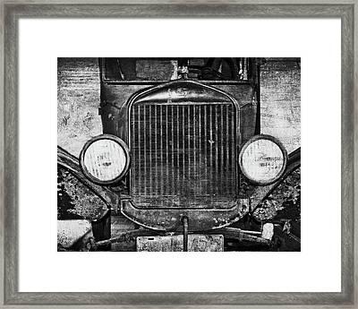 Model T Framed Print by Emily Kay