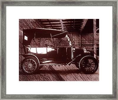 Model T Ford Framed Print