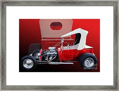 Model T Ford Framed Print by Jim  Hatch