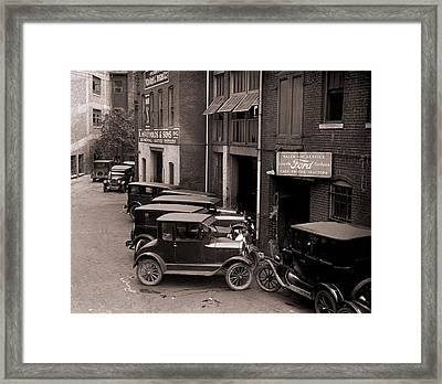Model Ts, And One More Luxurious Framed Print by Everett