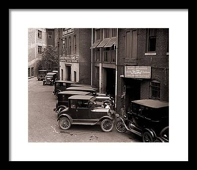 Ford Model T Car Framed Prints
