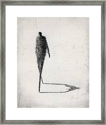 Moderate Framed Print
