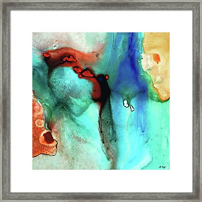 Modern Abstract Art - Color Rhapsody - Sharon Cummings Framed Print by Sharon Cummings
