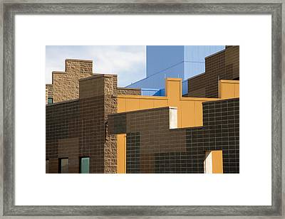 Modern Architecture 2 Framed Print by Steve Ohlsen
