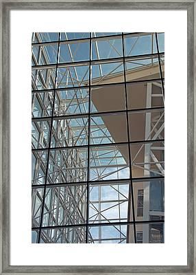 Modern Architecture 4 Framed Print by Steve Ohlsen