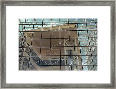 Modern Architecture 8 Framed Print by Steve Ohlsen