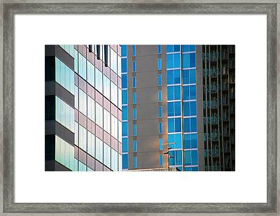 Modern Architecture Photography Framed Print by Susanne Van Hulst