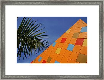 Modern Architecture Framed Print by Susanne Van Hulst