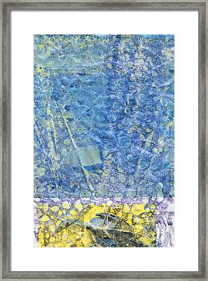 Modern Art - Above And Below - Sharon Cummings Framed Print by Sharon Cummings