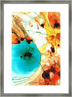 Modern Art - Potential - Sharon Cummings Framed Print by Sharon Cummings