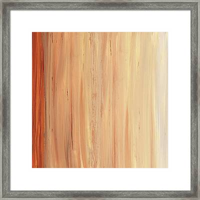 Modern Art - The Power Of One Panel 2 - Sharon Cummings Framed Print