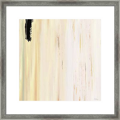 Modern Art - The Power Of One Panel 3 - Sharon Cummings Framed Print by Sharon Cummings