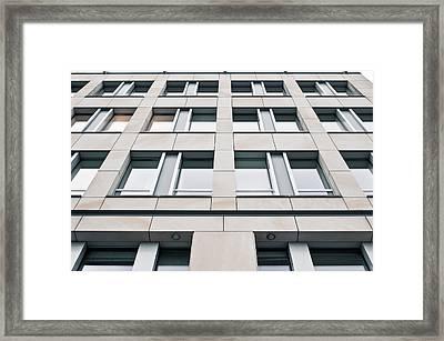 Modern Building Exterior Framed Print