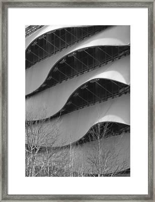 Modern Building In Cardiff, Uk Framed Print