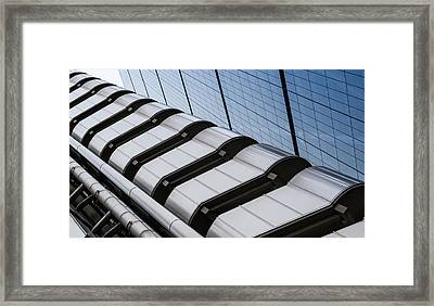 Lloyds Building Bank In London Framed Print