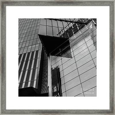 Modern Buildings Nyc Abstract Framed Print